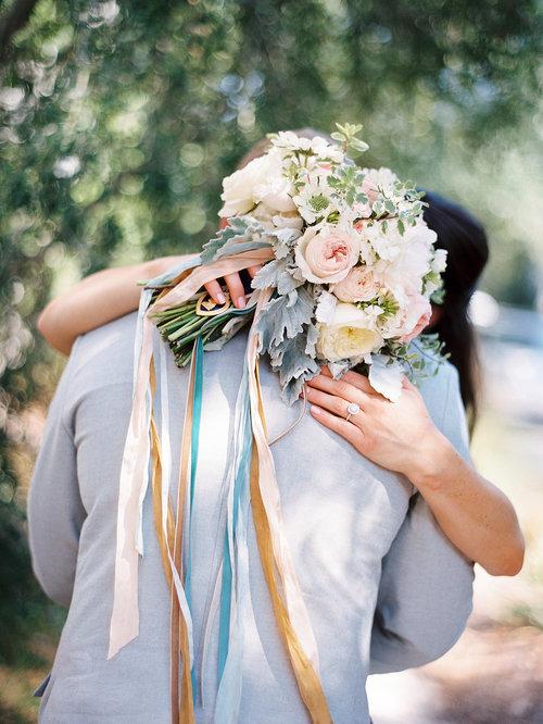 Свадебные букеты длинные