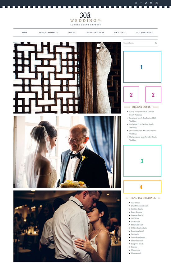 Advertise with 30a Wedding Co.