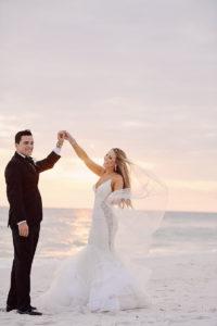 Carillon Beach 30A Wedding