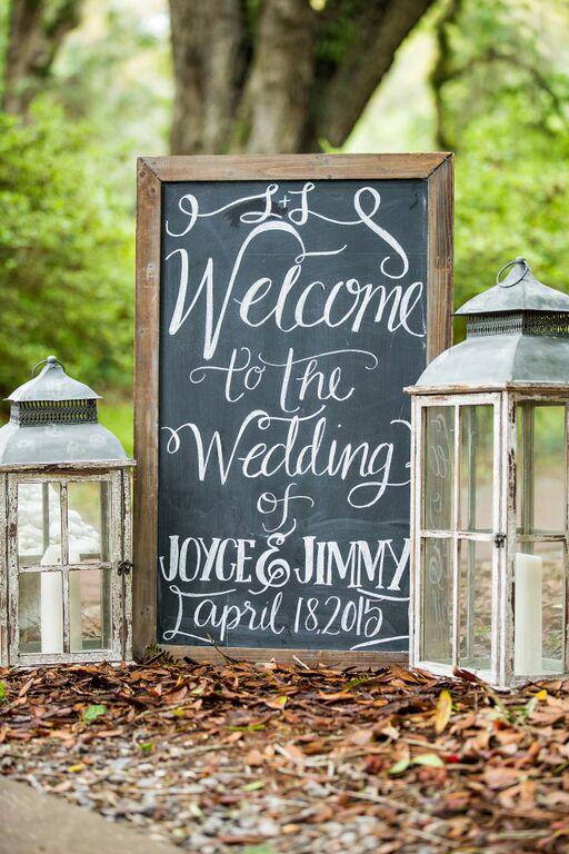 Joyce and Jimmy : An Eden Garden Wedding