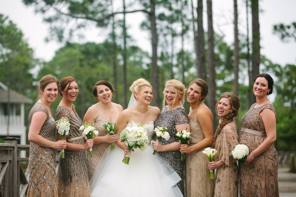 The Swinging 20's are back with this popular trend for Bridesmaid dresses.
