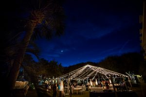 A wedding reception under the stars. Photo Credit: Rae Leytham Photography