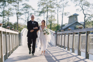 Watercolor Boathouse Wedding
