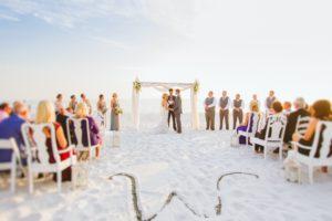 Triple Crown House Beach Wedding