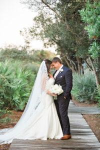 Rosemary Beach Town Hall Wedding