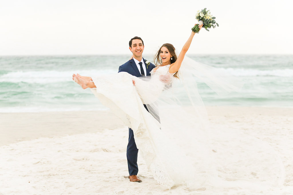 Rosemary Beach Eastern Green Wedding