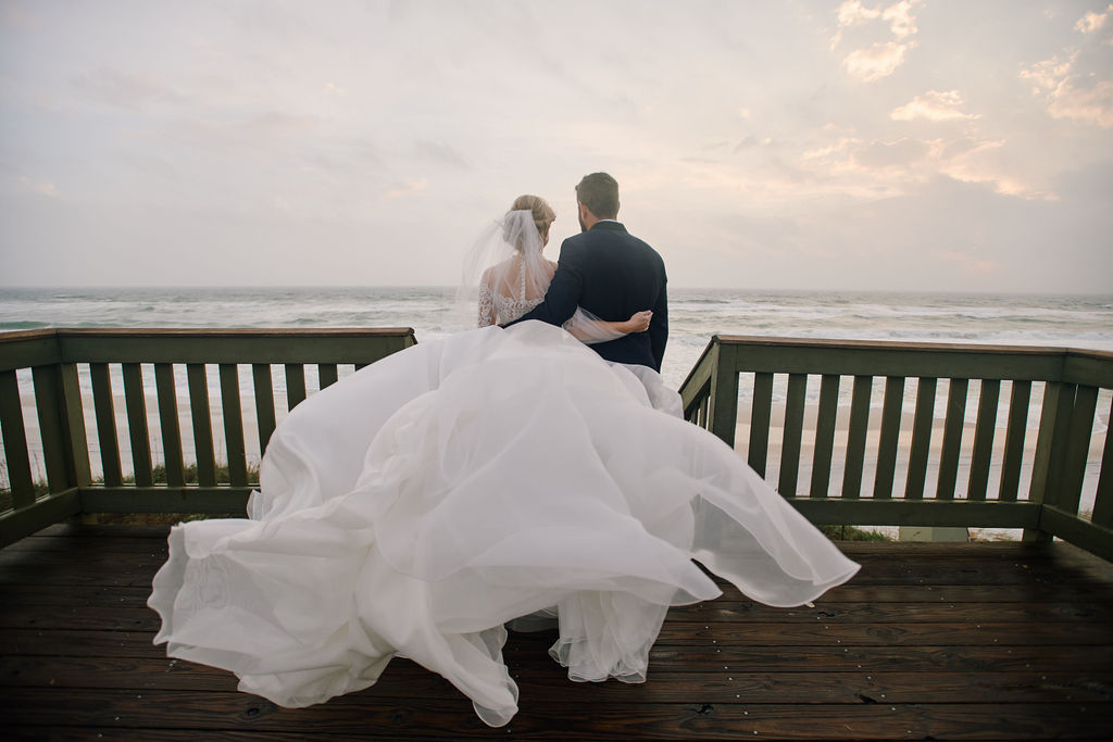 Rosemary Beach Eastern Green Wedding