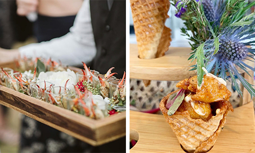Fun Cocktail Hour Food Ideas For Your 30a Wedding